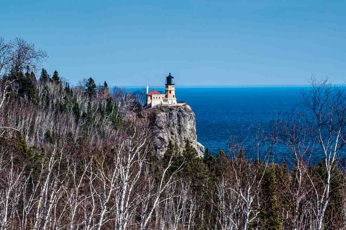 split rock lighthouse north shore lake superior