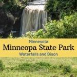 Minneopa State Park Mankato Minnesota
