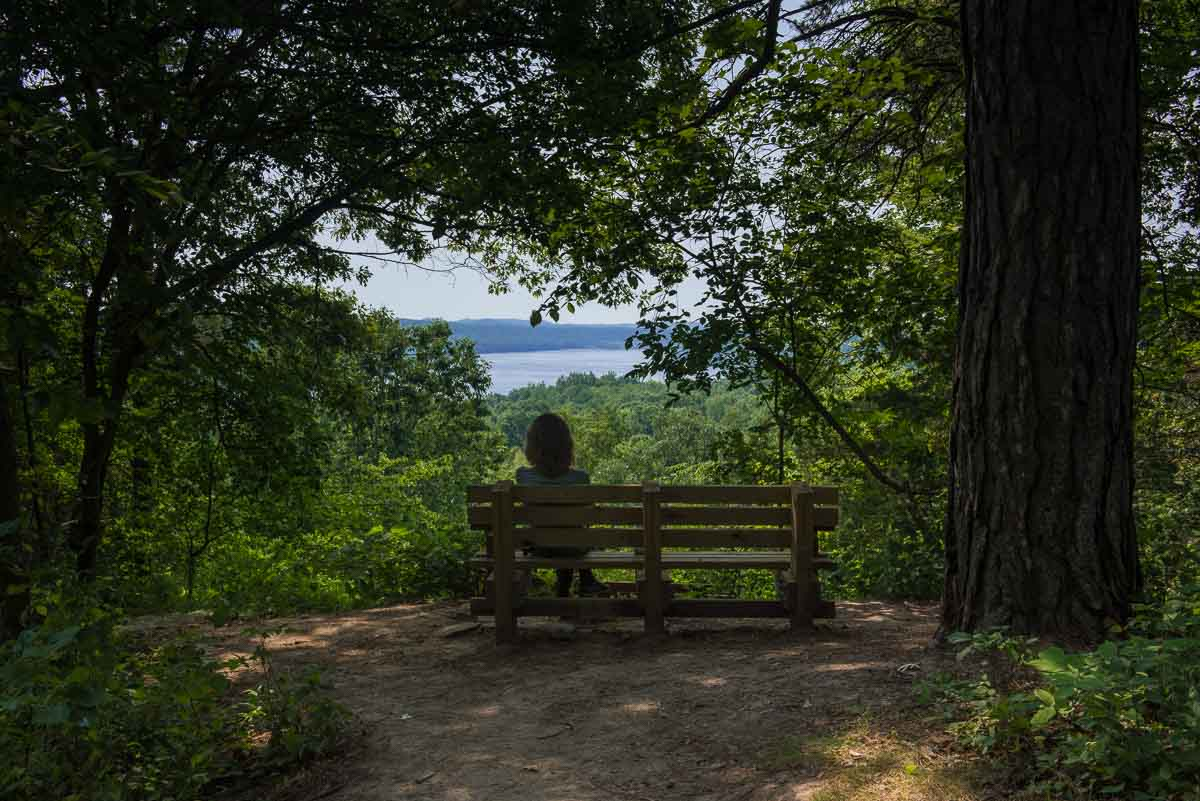 minnesota afton state park overlook