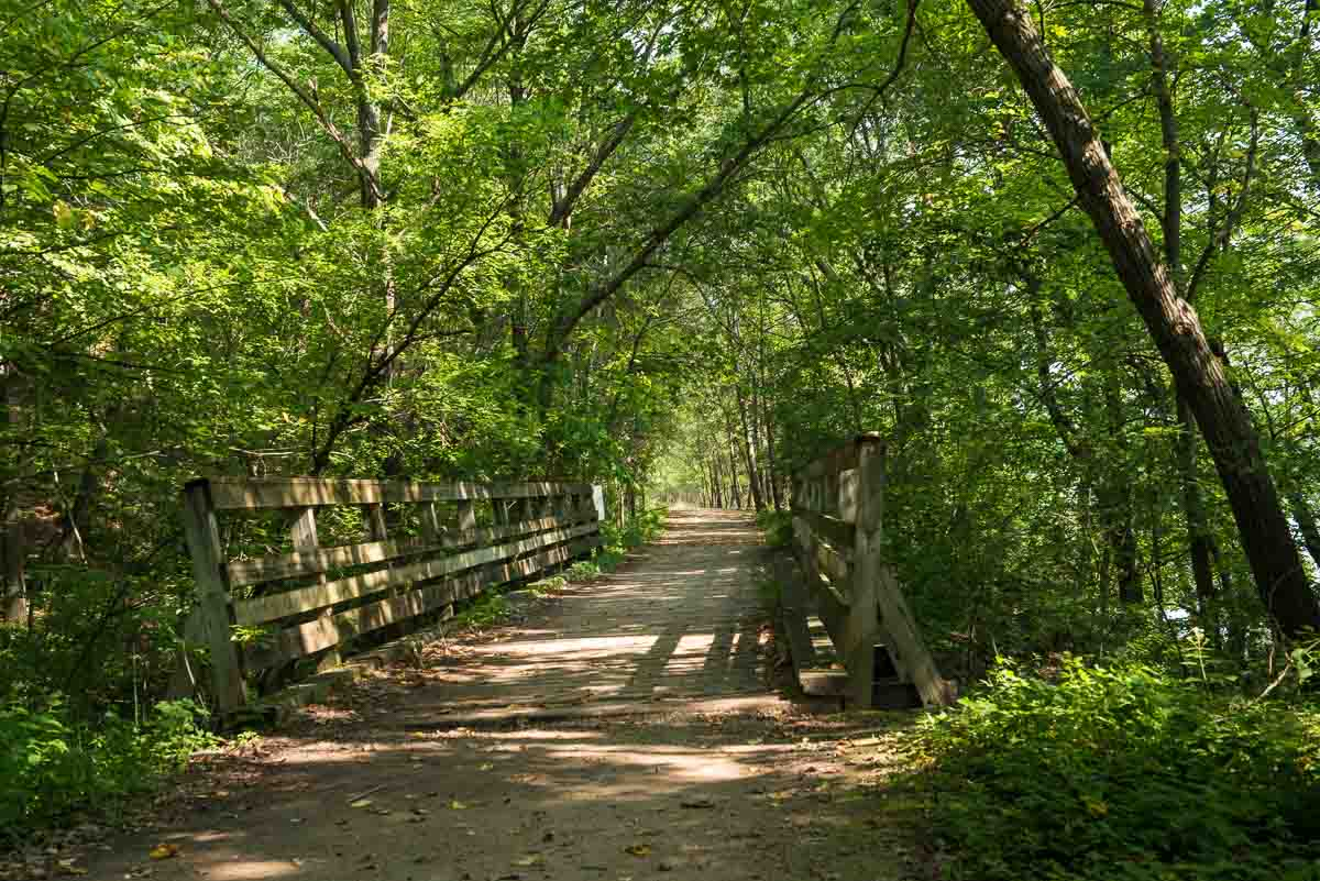 minnesota afton state park river path