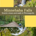 scenic walkable Minnehaha Falls Minneapolis
