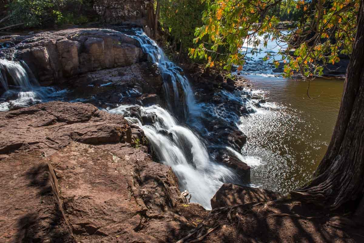 minnesota gooseberry falls state park