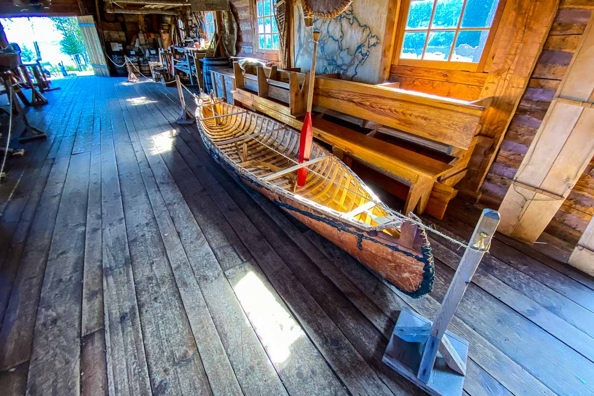 minnesota grand portage national monument canoe shop