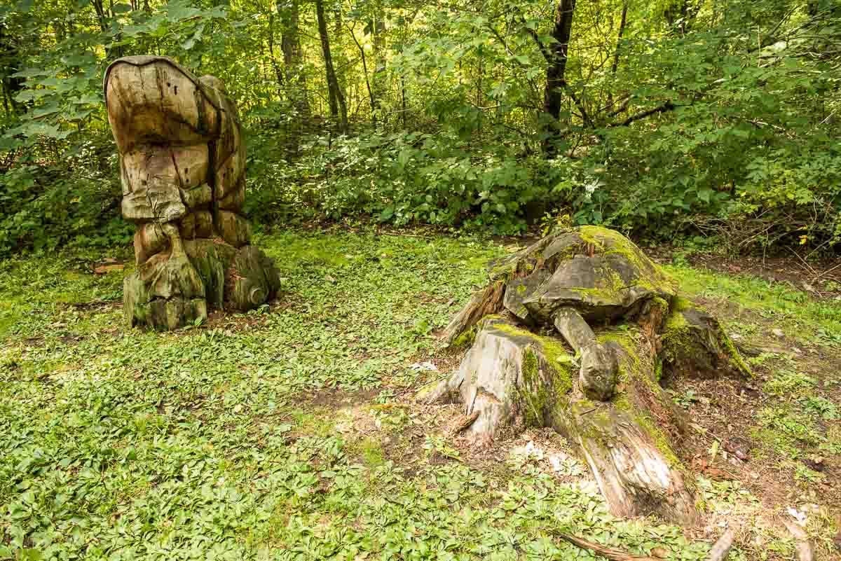 minnesota lindbergh state park sculptures