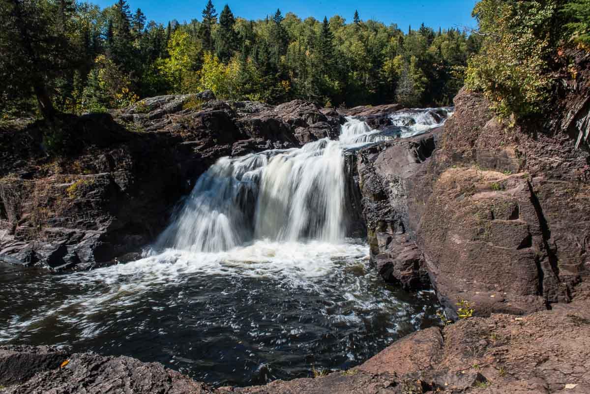 minnesota magney state park upper falls