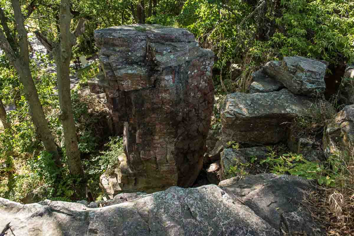 minnesota pipestone leaping rock