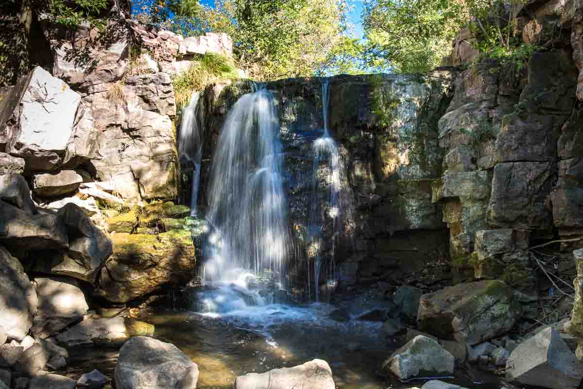 minnesota pipestone national monument waterfall