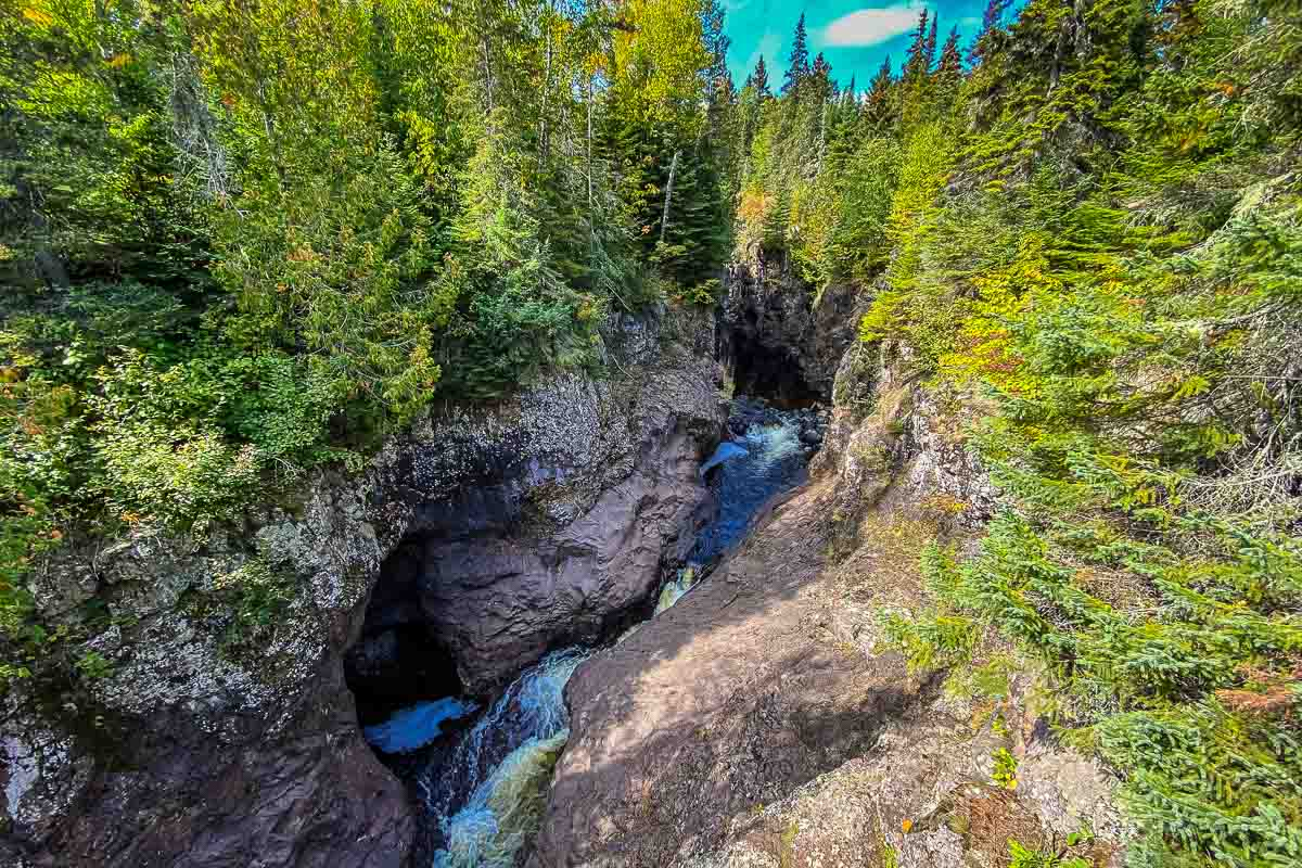 minnesota temperance river first falls