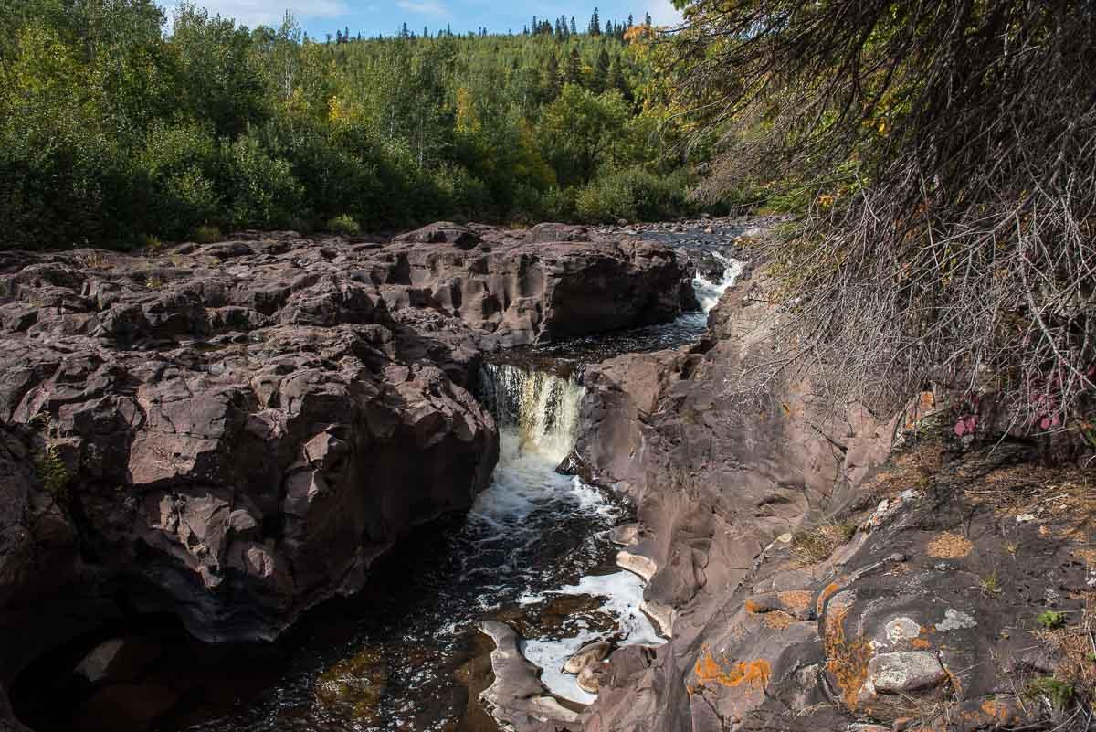 minnesota temperance river top falls