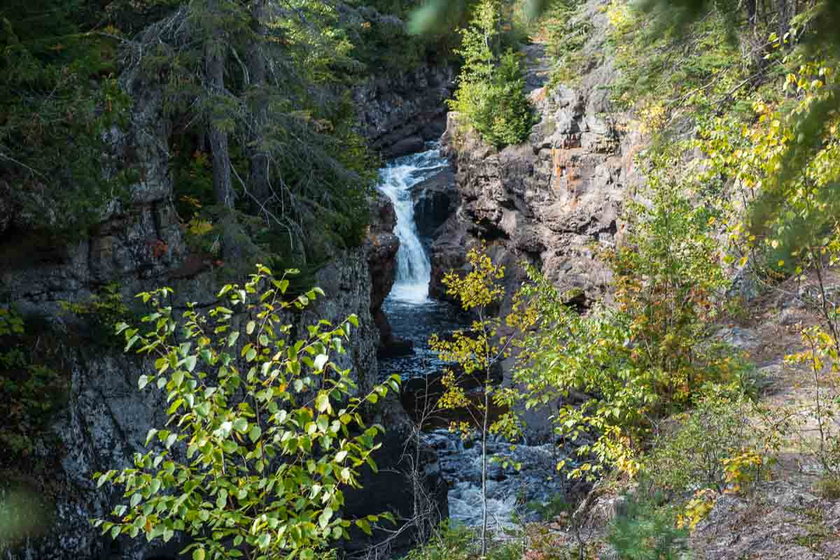 minnesota temperance river upper falls