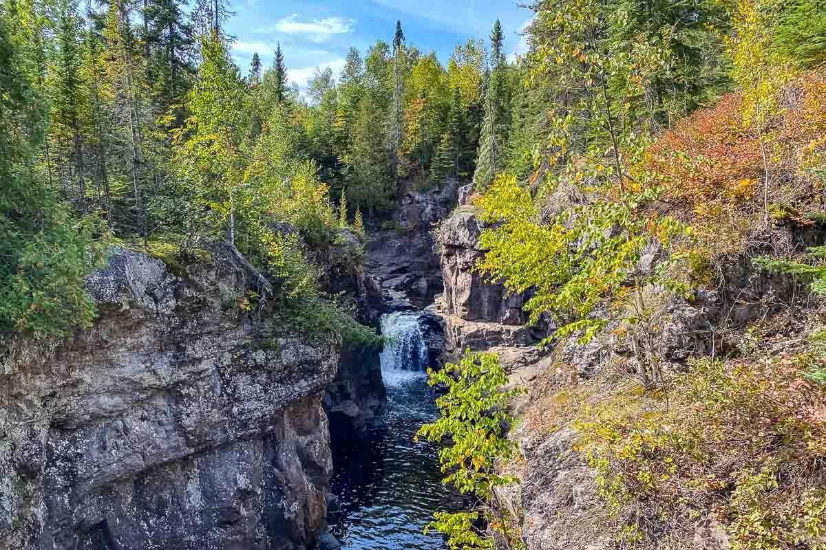 minnesota temperance river waterfall 2