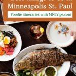 Food and restaurants Minneapolis St. Paul