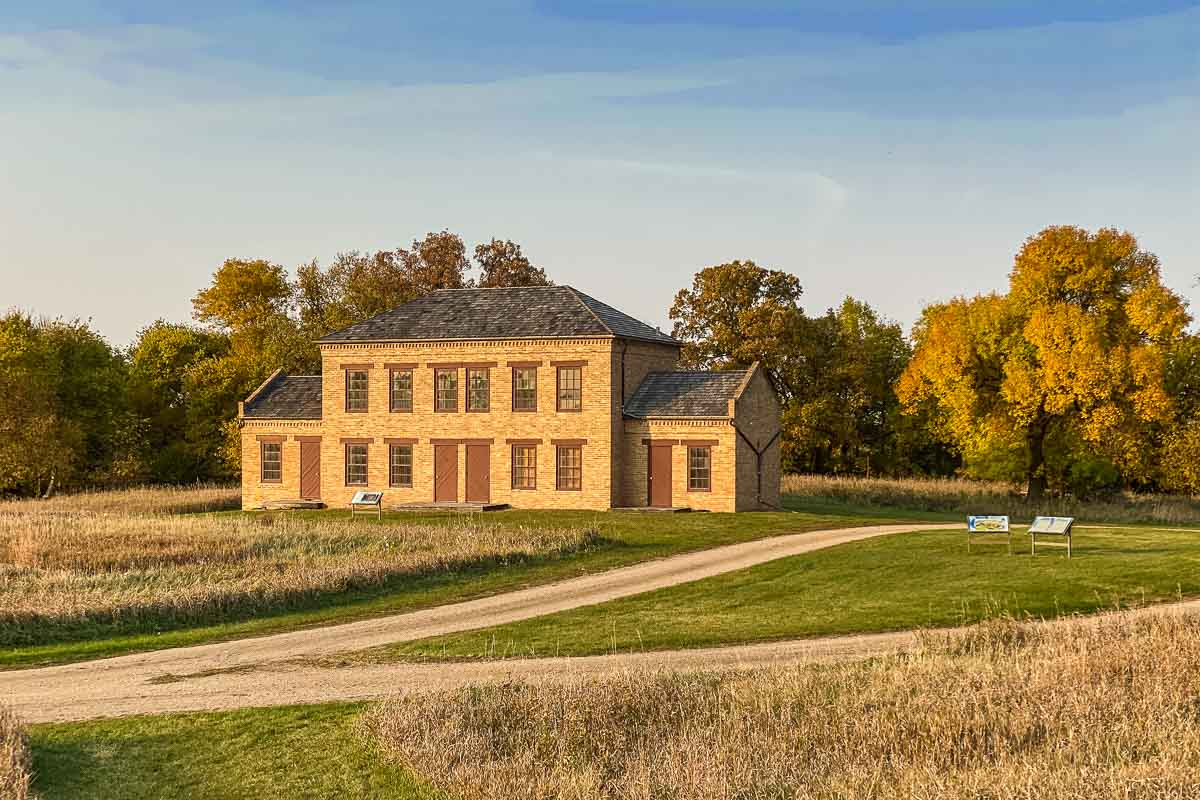 upper sioux agency state residence