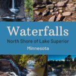 Waterfalls North Shore Minnesota