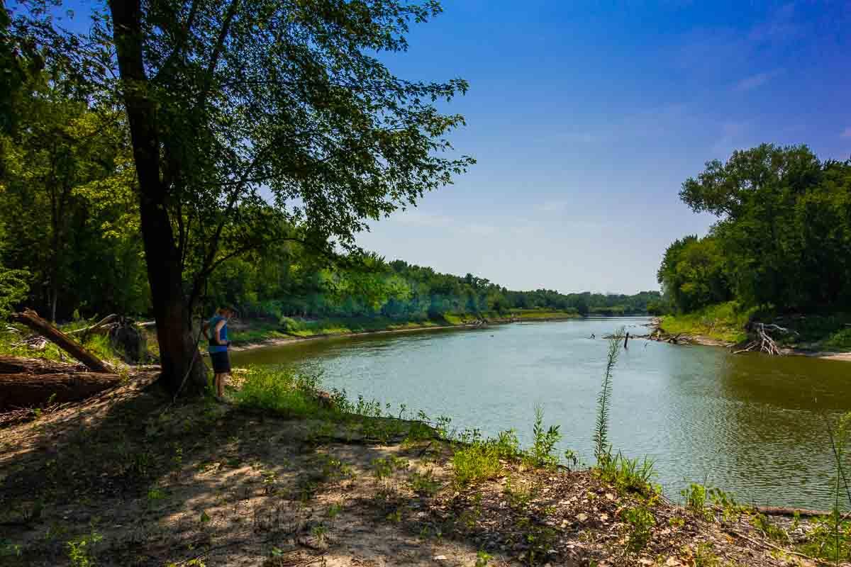 minnesota river state recreation river bank